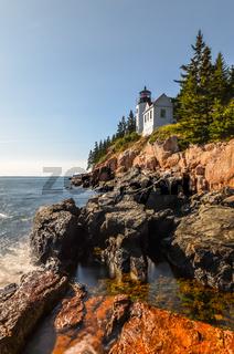 Bass Harbor Leuchtturm, Acadia National Park, Maine, Neuengland, USA, Nordamerika