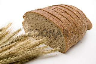 Weizenbrot mit Weizen