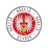 Narpio city postal rubber stamp