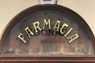 Apotheke in Italien | pharmacy in Italy