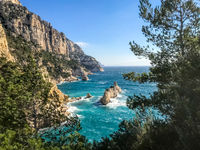 Calanques, creeks of marseille