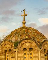 Byzantine Style Church, Athens, Greece