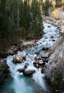 Athabasca River Rocky Mountains