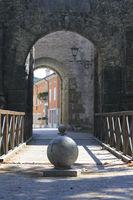 Porta Nuova, city wall of Gradisca d'Isonzo, Italy