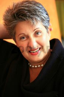 Portrait einer Frau Mitte 50