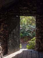 Doorway of Halfway Hut - Wilsons Promontory