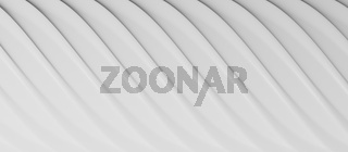 Abstract background in white, 3d rendering