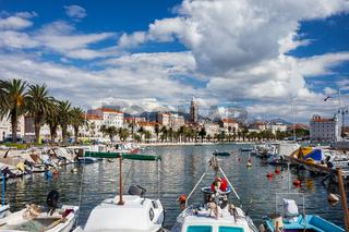 Split City Skyline in Croatia