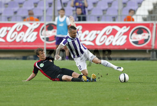 Ujpest vs. Honved OTP Bank League football match