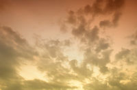 Nice sunset sky