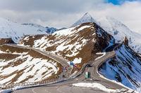 Austria. Grossglockner sightseeing road