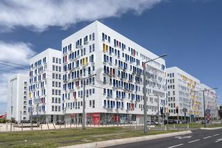 Modern architecture, Euroméditerranée, Marseille