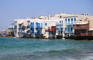 Little Venice in Mykonos