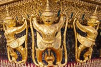 Garuda in Grand Palace Bangkok Thailand
