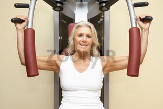 fitness mature woman