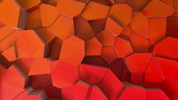 Cracked polygons surface abstract background.