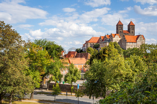 View with Quedlinburg Abbey