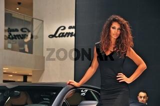Models auf der IAA Frankfurt