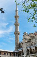 Minaret of Blue Mosque