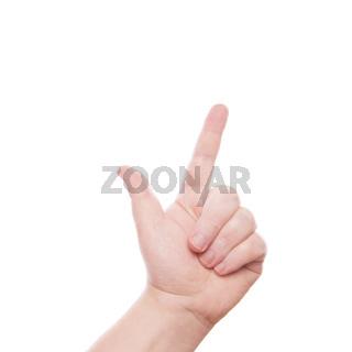Handzeichen 2