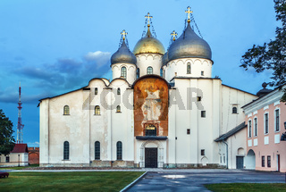 Cathedral of St. Sophia The Wisdom Of God, Veliky Novgorod, Russia