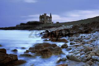 Chateau Turpault, Quiberon Halbinsel, Bretagne, France