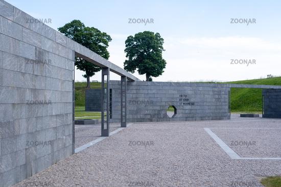 Monument at Kastellet Fortress in Copenhagen