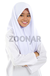 Muslim teen