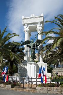 Denkmal in Calvi