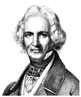 Christian Daniel Rauch, 1777 - 1857, sculptor of German Classici
