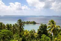 Marovo Lagoon in Solomon Islands