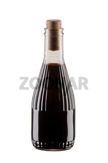bottle of soya sauce or balsamic vinegar