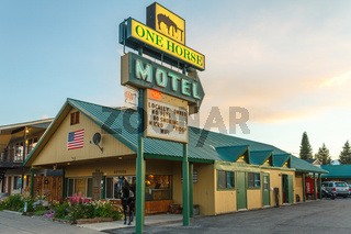 One Horse Motel in West Yellowstone, Montana