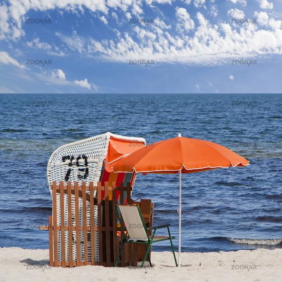 holiday on a beach