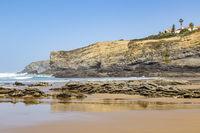 beach Zambujeira do Mar, Alentejo, Portugal
