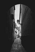 Old street in Granada