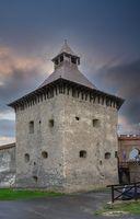 Tower in Medzhybish fortress, Ukraine
