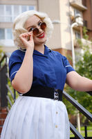 retro style woman