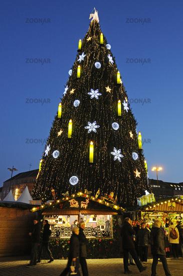 christmas market, Dortmund, Germany