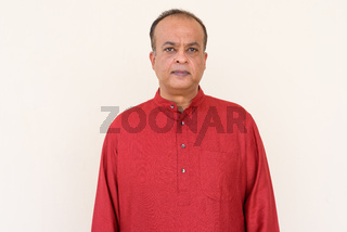 Portrait of Indian man wearing traditional clothes