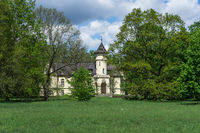 Hohenbocka Castle - is a palace complex (built 1897/1898) in the South Brandenburg. Germany.