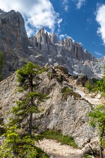 Felslabyrinth unter dem Latemar, Dolomiten, Suedtirol