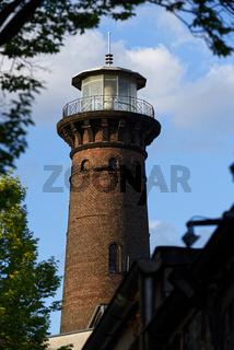 historischer Helios Leuchtturm in Köln Ehrenfeld
