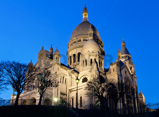 Sacre Coeur during the blue hour