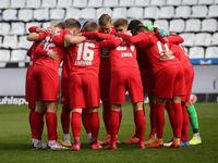 Circle of players 1.FC Kaiserslautern DFB 3rd league season 2020-21