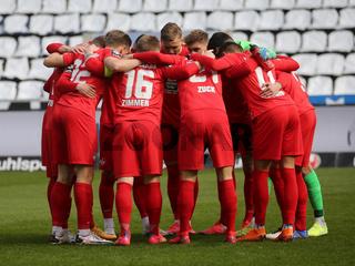 Teambesprechung  1.FC Kaiserslautern DFB 3.Liga Saison 2020-21