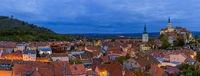 Mikulov cityscape in Czech Republic