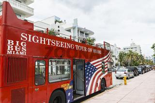 Miami-Sightseeing Tourbus