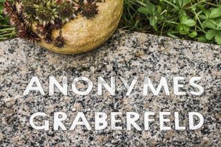 anonymes gräberfeld
