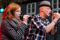 Marlene Wenzig singt mit Rapper MisterME